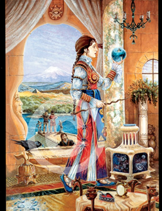 Immaculada,daughter of the winds