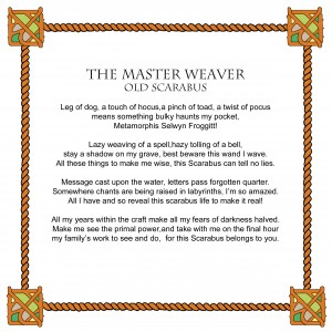Master weaver  text
